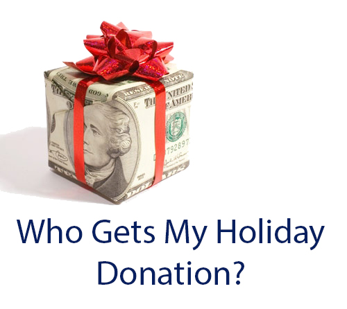 image for Who Gets My Holiday Donation?