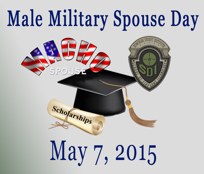image for The First  Male Military Spouse Day and Scholarship Giveaway