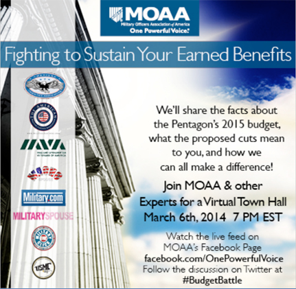 image for MOAA to Host National Virtual Town Hall for Military Families