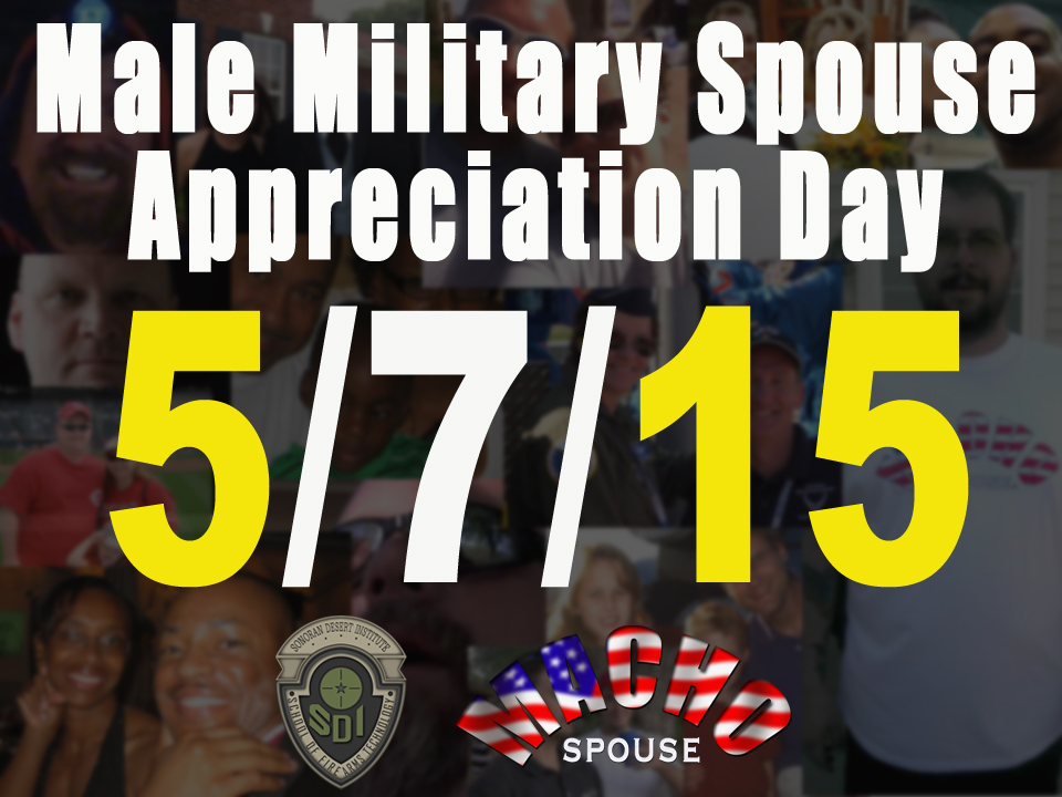 image for Male Military Spouse Appreciation Day - Scholarship Entry