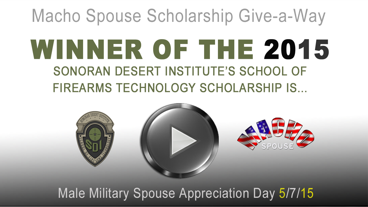 image for 2015 Male Military Spouse Appreciation Day Winner Announcement Video
