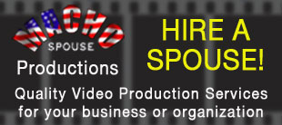Hire a Male Military Spouse - Video Production and Web Design Services