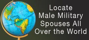 Male Military Spouse Locator Map