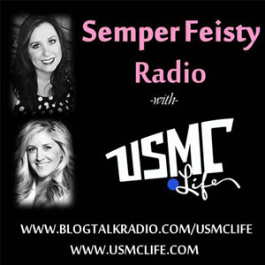 Semper Feisty with USMC Life