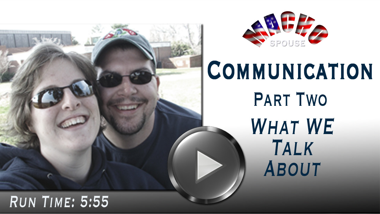 image for Video - Importance of Communication Part 2 - What We Talk About