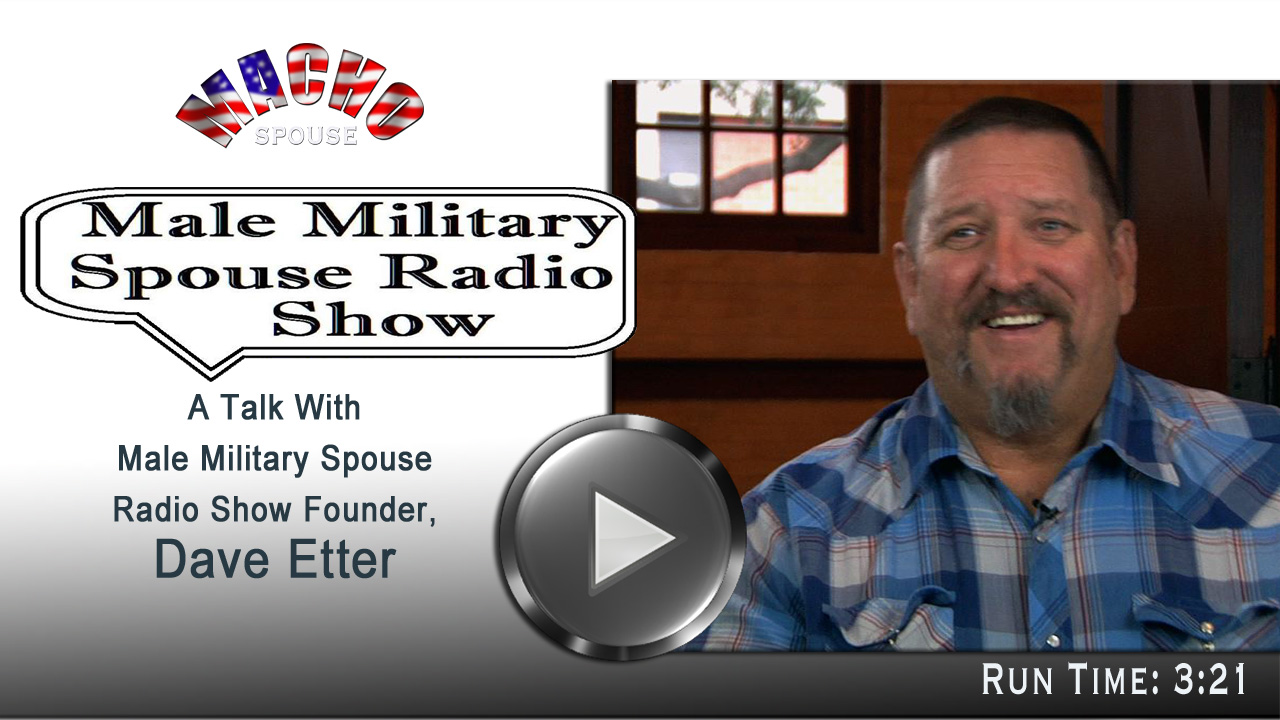 image for Male Military Spouse Radio Show on Blog Talk Radio