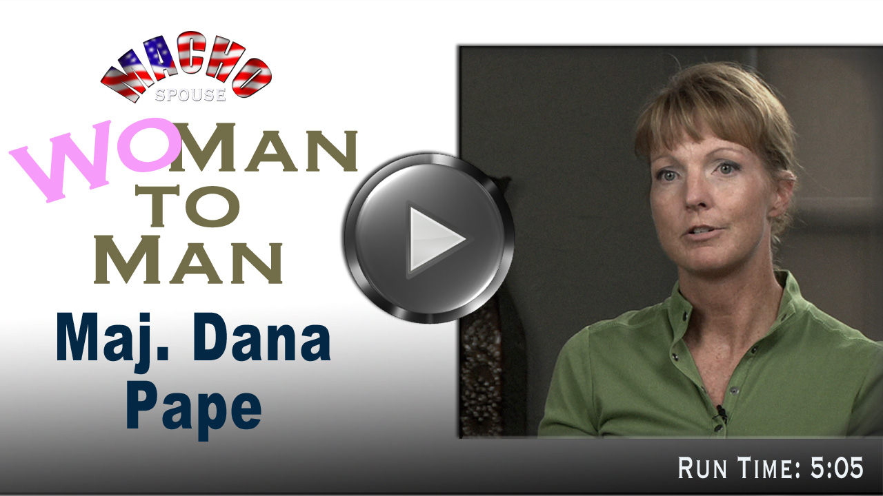 image for (Wo)man-to-Man with Major Dana Pape